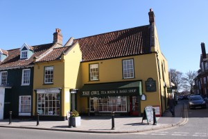 One of Many Tempting Tea Rooms in Holt