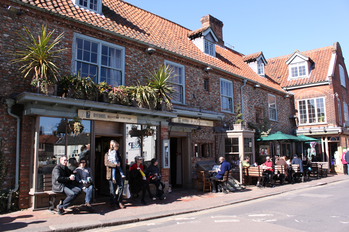 Byfords Deli and Tea Rooms in Holt