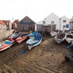 Boats Hauled at Sheringham
