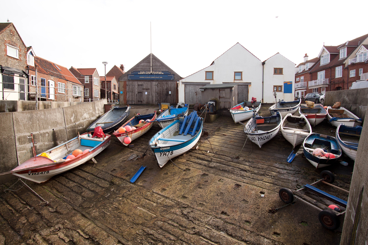 Boats Hauled at Sheringham