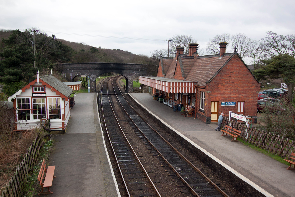Weybourne Railway Station (steam)