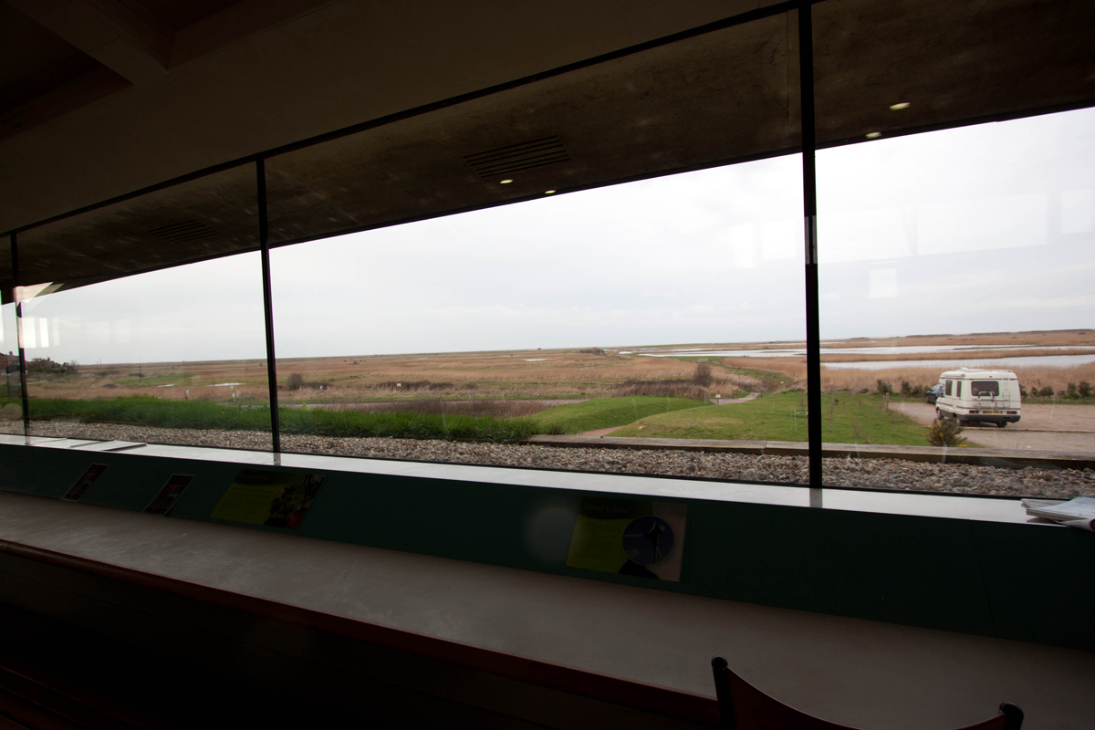 View from the Norfolk Wildlife Trust Cley