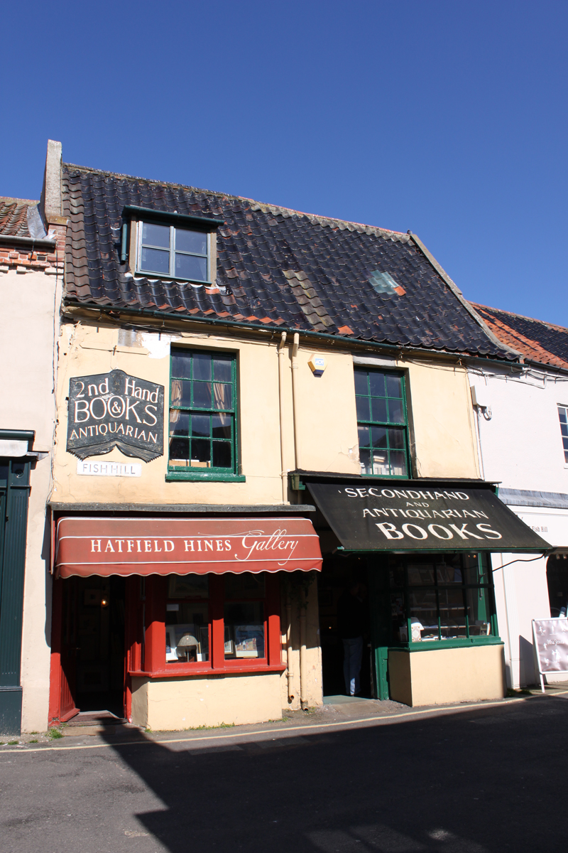 Antique and secondhand bookshop in Holt