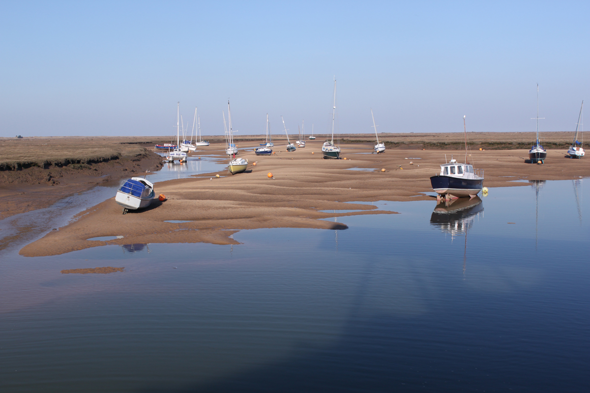 Low Tide at Wells Harbour