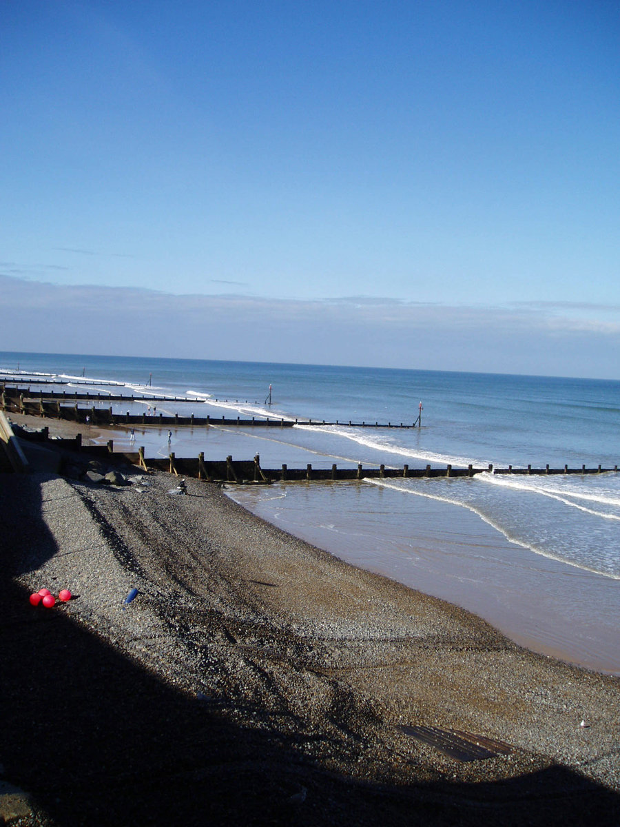 Late Afternoon Sun on Sheringham Beach