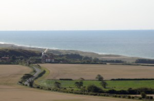 View of the Coast from Sheringham Park
