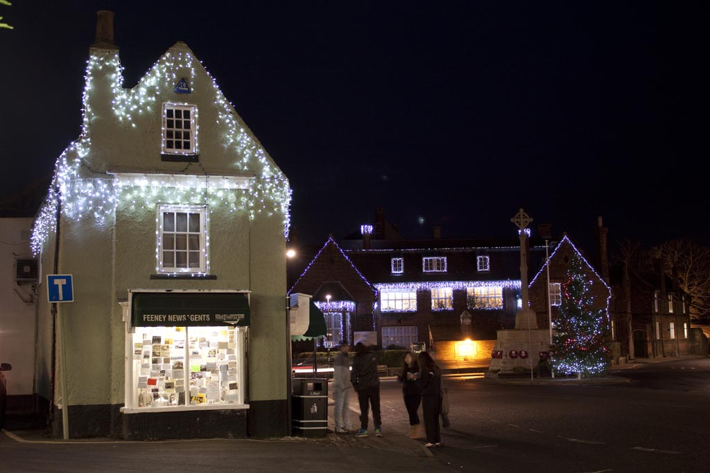 Holt Christmas Lights | Oaktree Cottage